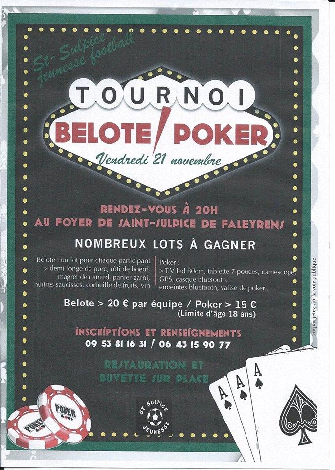 poker foot