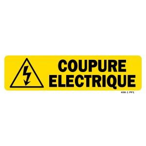 COUPURE ELECTRIQUE JAUNE
