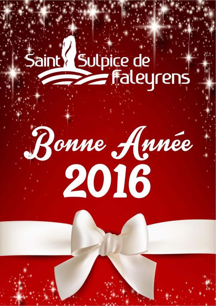 bonne année 2016 saint Sulpice de Faleyrens