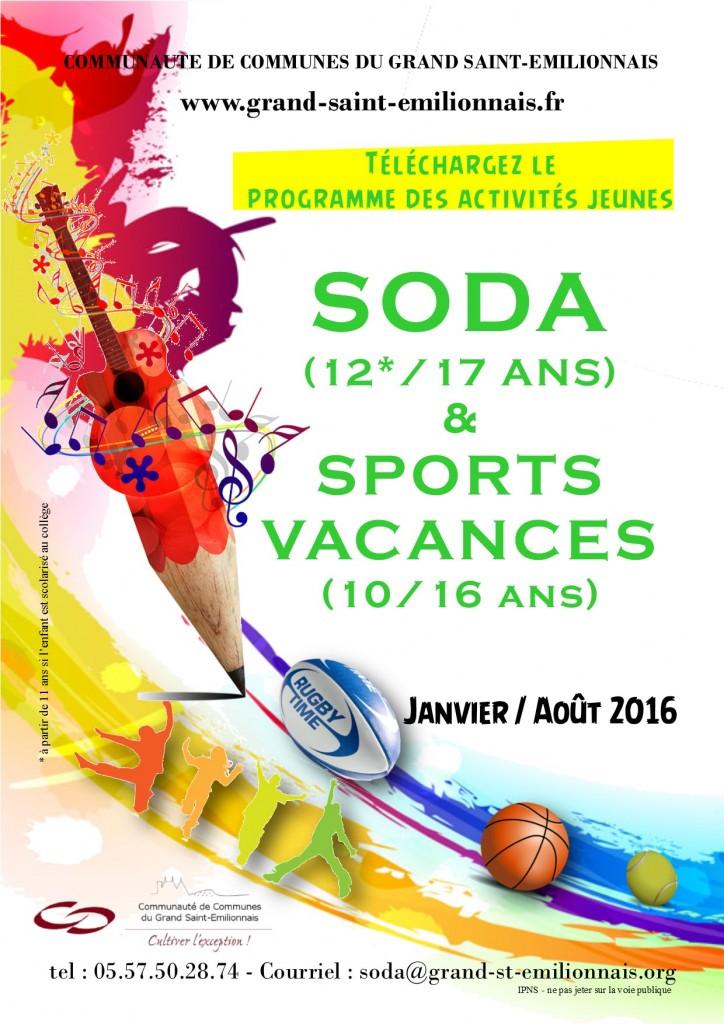 affiche prog SODA 16