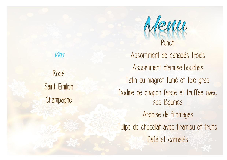 menu repas des aînés 2016