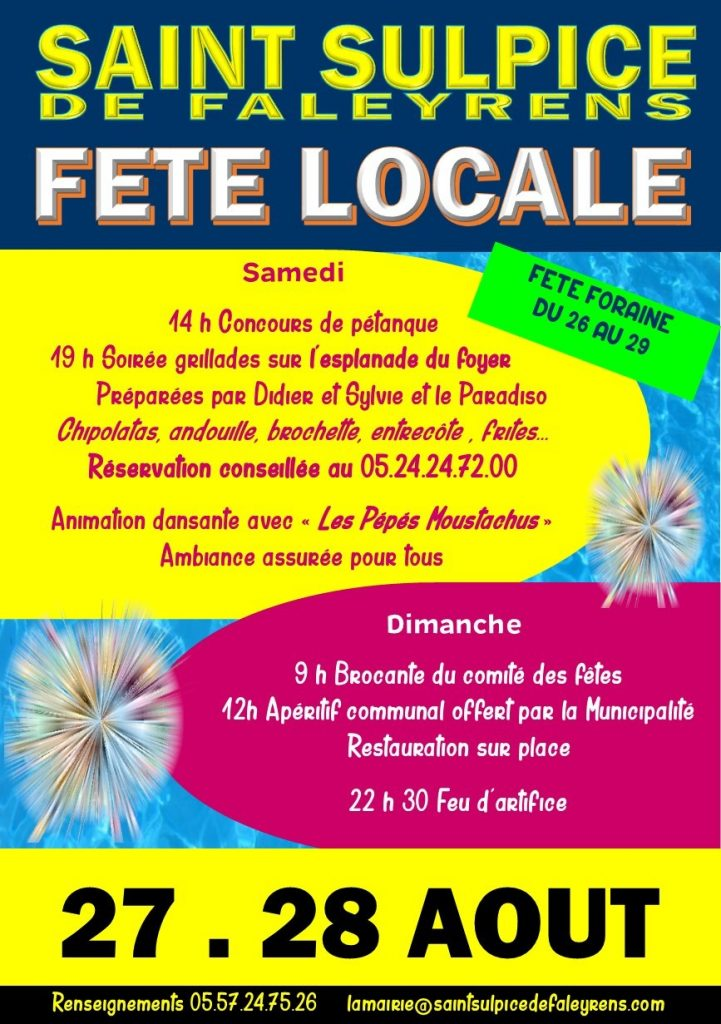 FLYER fete locale 2016