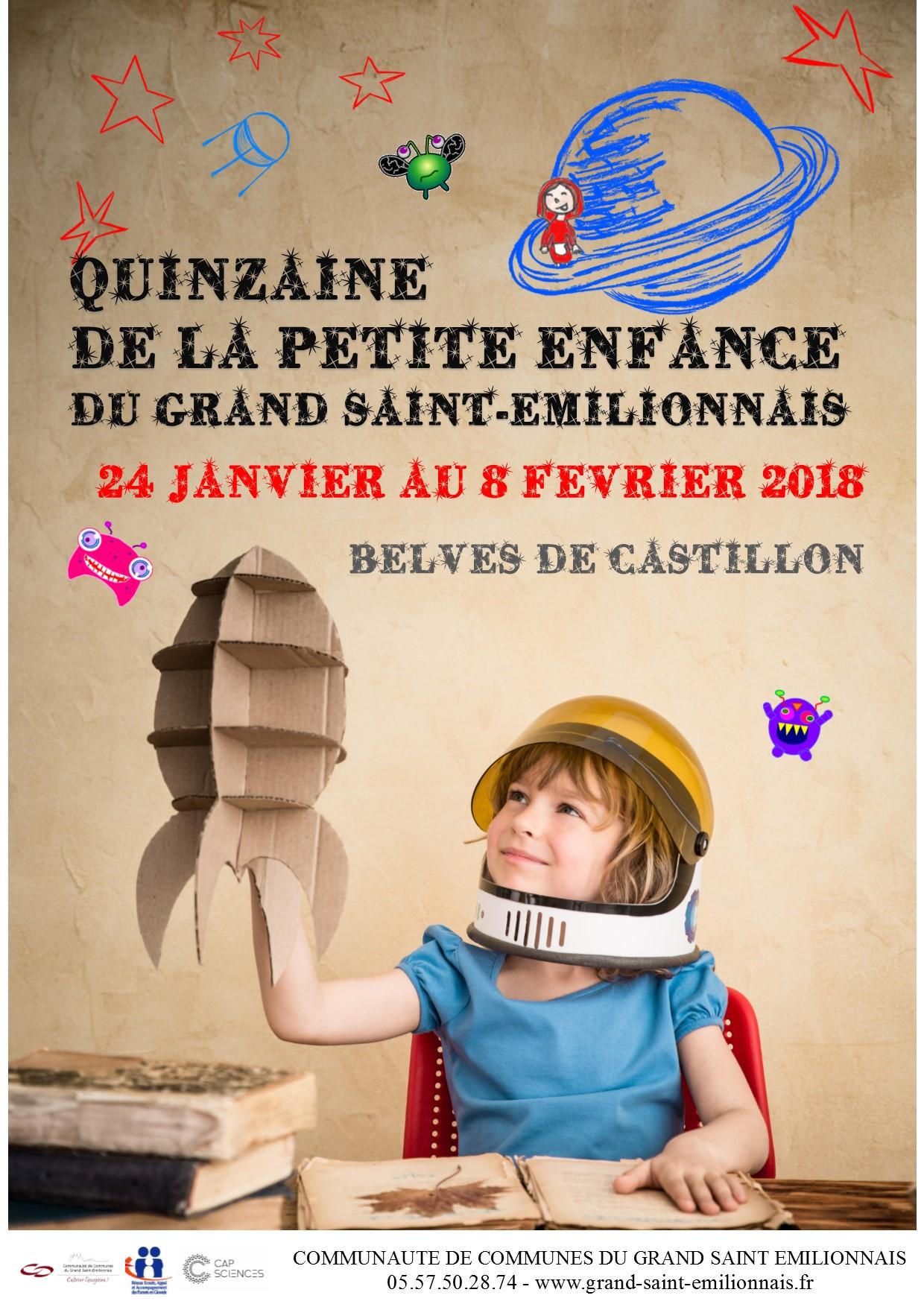 Quinzaine de la petite enfance du 24 janvier au 8 février 2018