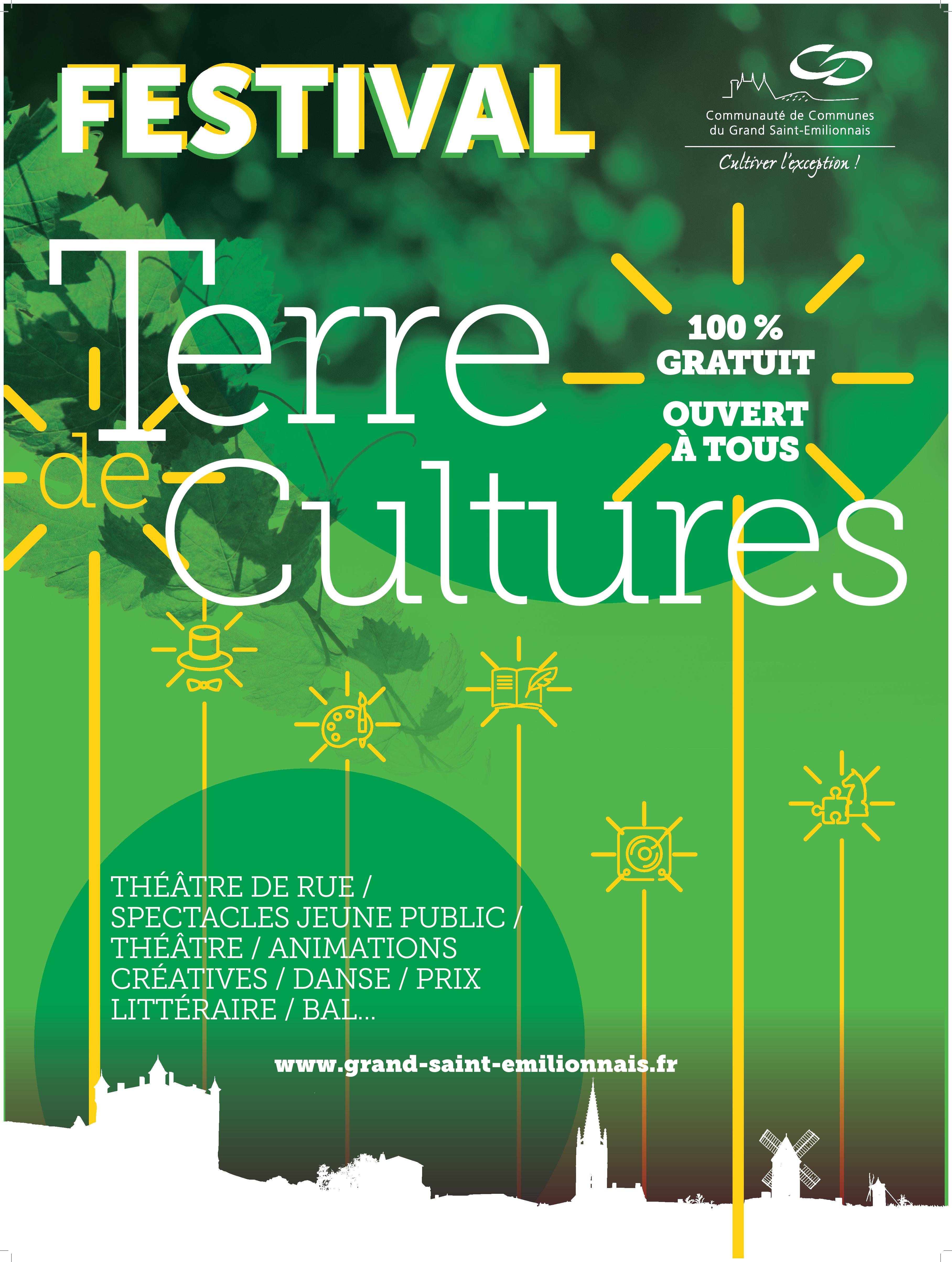 Terre de Cultures, le Festival CDC 100% gratuit
