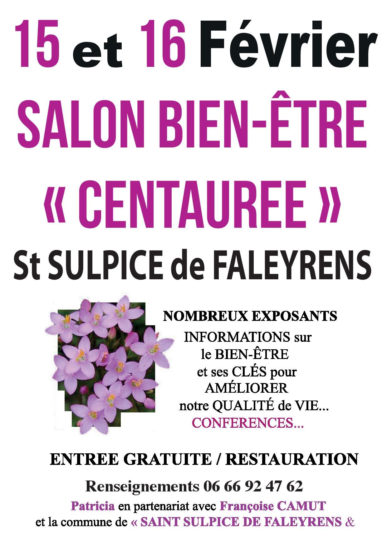 Le salon du Bien-être à Saint Sulpice de Faleyrens
