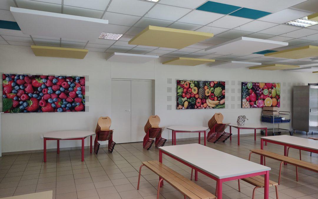 Un restaurant scolaire rénové pour la rentrée