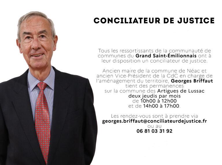 Un conciliateur de justice sur la Communauté de Communes
